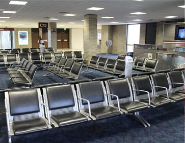 Airport Seating supplied to Airports in UAE